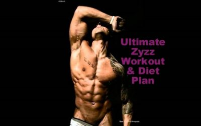 zyzz workout and diet plan